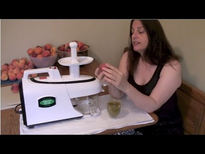 Double Dare, Juicing and Peaches (includes ASMR soft talking, whispering and lots of  peaches)