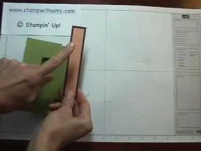 Flip flop card