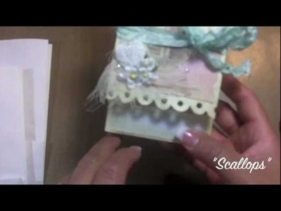 """Gift Bag with card Pocket"" tutorial!"