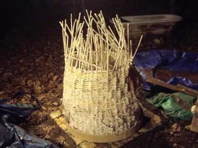 Green kiln newspaper basket and clay = 2000 degrees.m4v