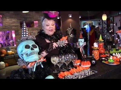 Halloween Buffet Decor