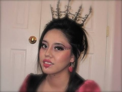 Halloween Tutorial: Queen of Hearts