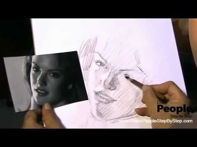 How To Draw People Fast | Realistic Pencil Portrait Mastery