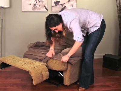 How to Install a Recliner Slipcover by Caber Sure Fit Inc.