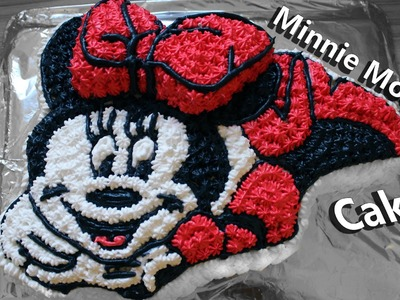 How to make a Minnie Mouse cake. Mickey Mouse Magic House