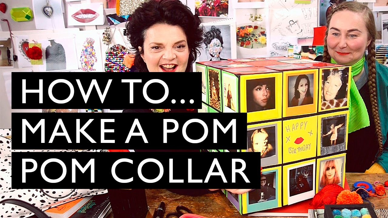 How to. make a Pom Pom Collar | LULU GUINNESS