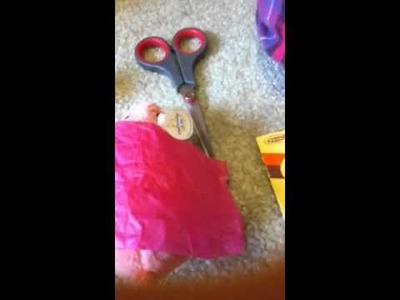 How to make a zhu zhu pet dress part 1