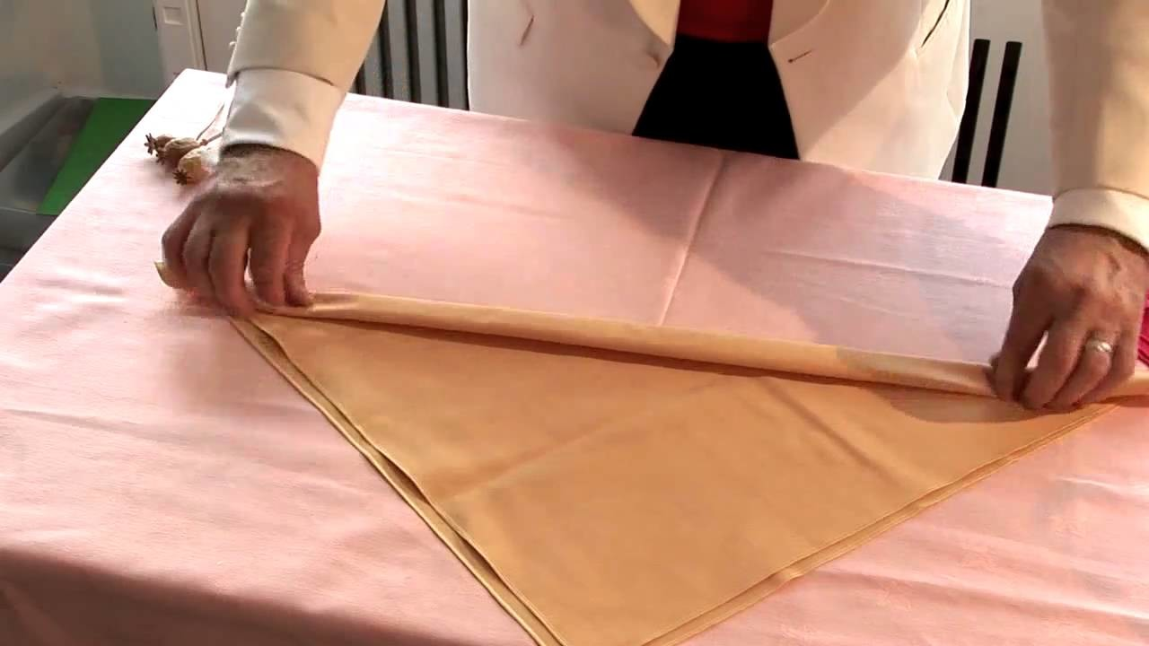 How To Make Christmas Napkins