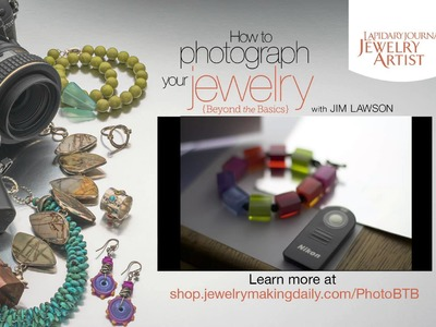 How to Photograph Your Jewelry: Beyond the Basics Promo