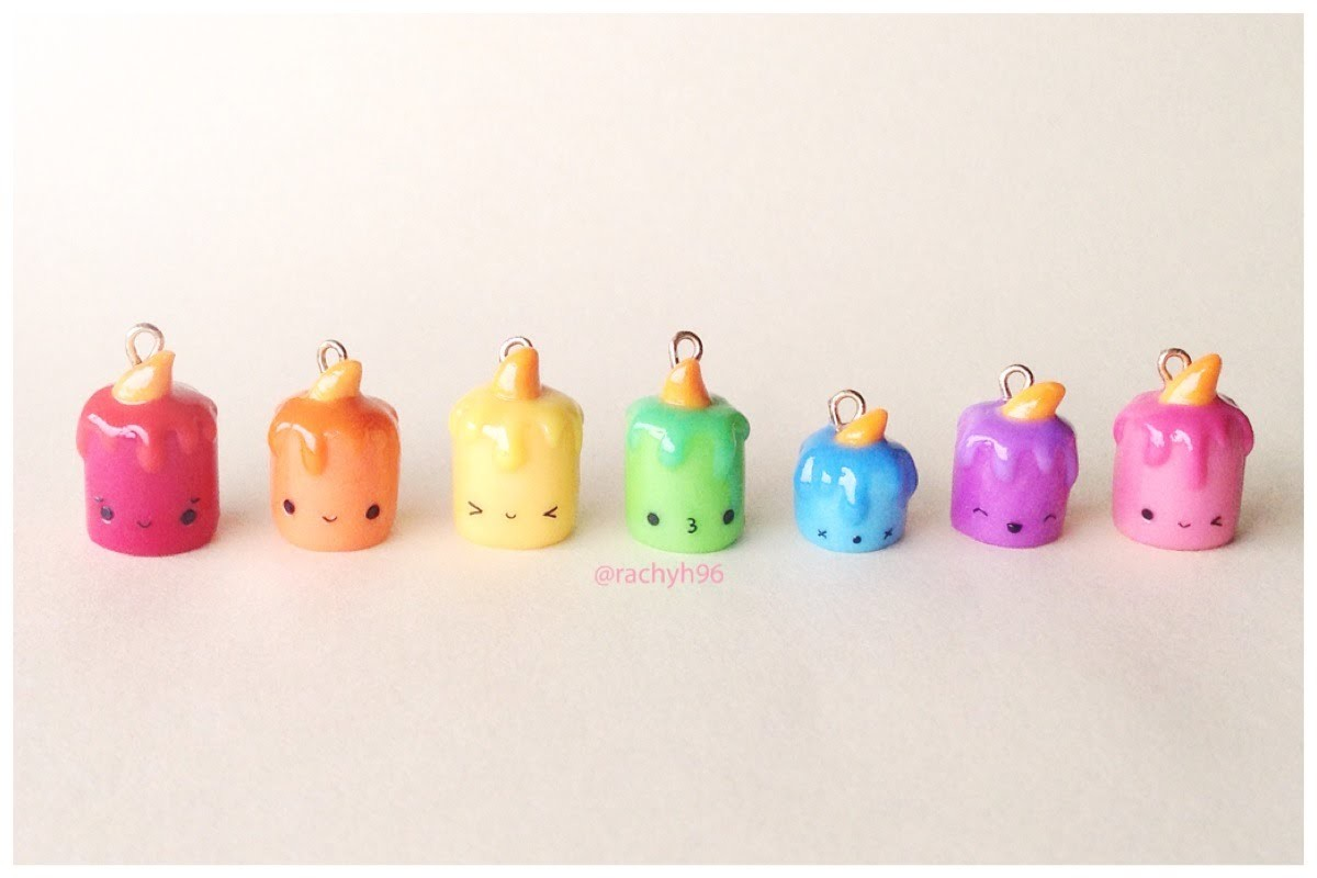 Kawaii Candle │ Polymer Clay Tutorial