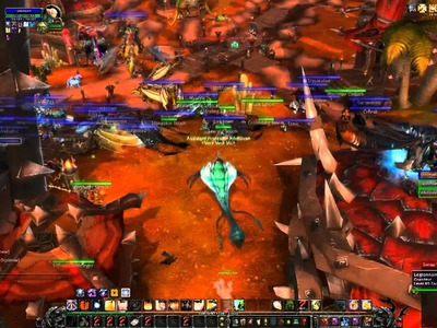 Kiting boss to Orgrimmar: And one shot everyone in Orgrimmar