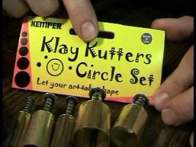Klay Kemper Kutters for Polymer Clay by Garden of Imagination