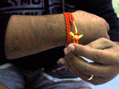Liferaft station : Anchor rope bracelet