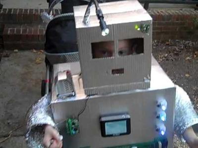 Mr Roboto Halloween 2010 Best Robot Costume EVER