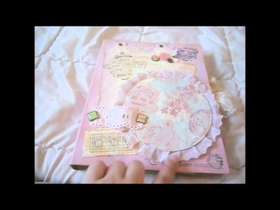 My Very First Shabby Chic Travel Junk Journal