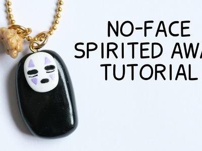No-Face Polymer Clay Tutorial ● Studio Ghibli Collab