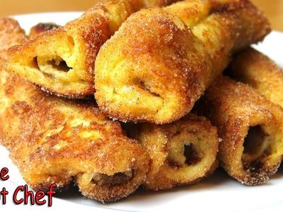 Nutella French Toast Rolls - RECIPE