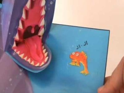PEZ que Gritaba TIBURON Libro Pop-Up Book Little Fish Who Cried Shark