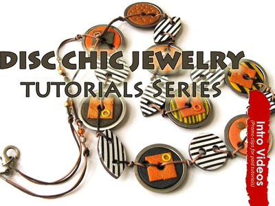 PROMO INTRO PolyPediaOnline TV - Polymer Clay Tutorial Kit Disc-Chic Jewelry