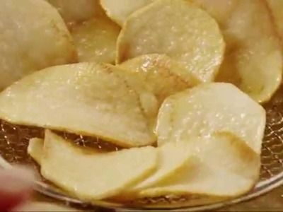 Snack Recipes - How to Make Homestyle Potato Chips