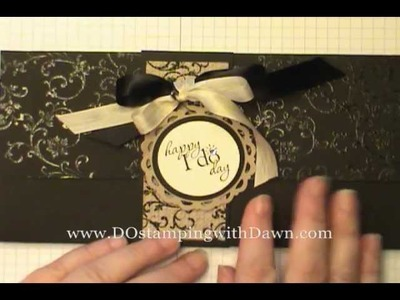 Stampin' Up! Wedding Photo Wallet Mini Album by Dawn O
