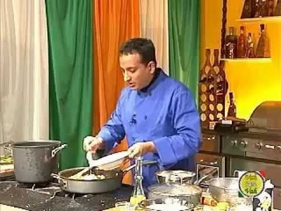 Steps on How To Make Vegetable Biryani Traditional Indian Food with VahRehVah