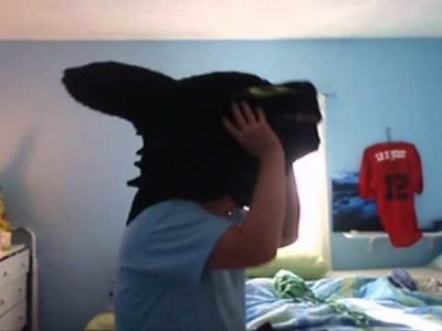 Toothless Costume: Part 5