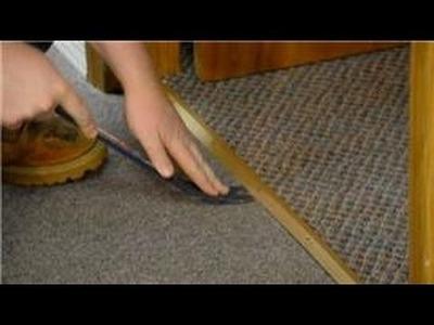 Trim & Molding : How to Replace Carpet Trim