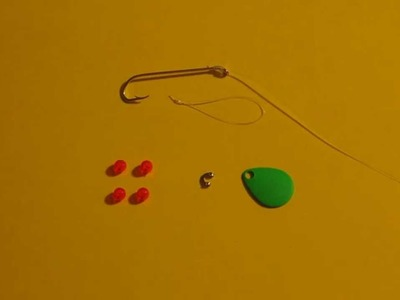 Uncle Steve Builds A Spinner Lure