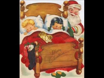 Vintage Greeting Card Images Christmas Vol 6