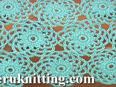 Crochet Circle Motif Joining Tutorial 10 Part 2 of 2