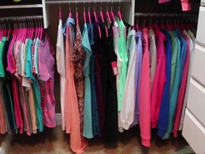 Home Decor: My Closet Makeover & Tour!