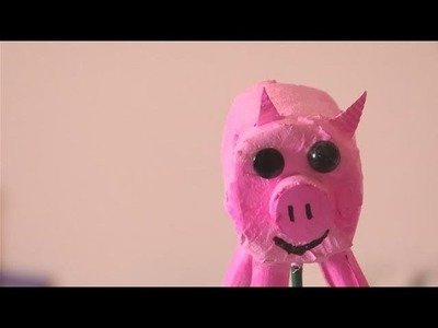 How To Create A Pig Puppet