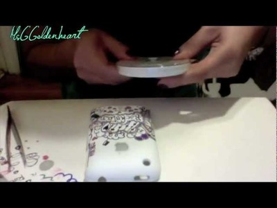 How to decorate an iPhone Case #2