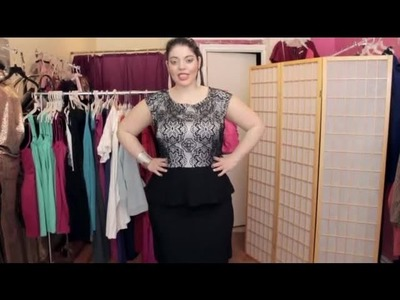 How to Hide a Stomach in a Fitted Dress : Fashion Advice for All Body Types