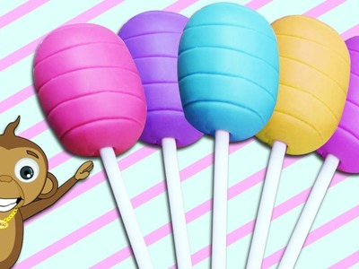 How To Make Easy Playdough Lollipops