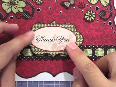 Red Velvet Artful Card Kit Card