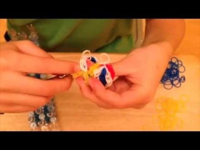 3D Rainbow Loom Bouncing Ball Part 2