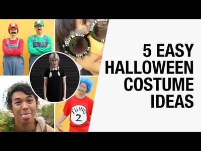 5 Easy Halloween Costume Ideas + Giveaway | Chictopia