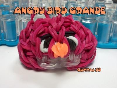 Angry bird grande. Angry bird rainbow loom big