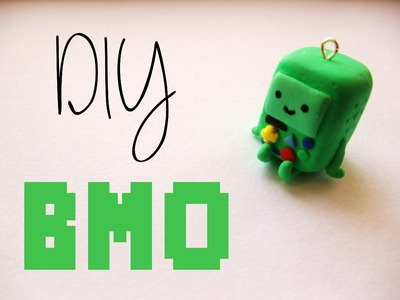 BMO Charm Tutorial [Polymer Clay ^_^]