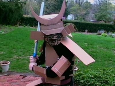Cardboard Samurai