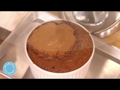 Chocolate Souffle Made with Icelandic Butter - Martha Stewart