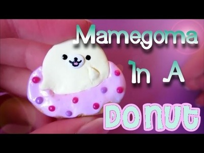 Chubby Mamegoma in a Donut Tutorial: Polymer Clay How-to :)