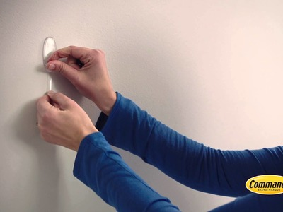 Command™ Clear damage-free hanging hooks for great decoration - TV Ad