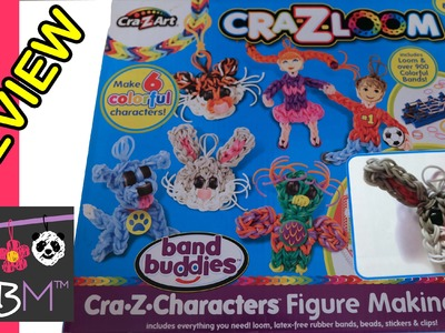 Cra-Z-Loom Cra-Z-Characters Loom Band Figure Making Kit Review