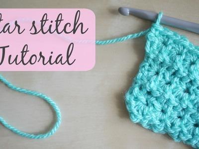 CROCHET: Star stitch tutorial   Bella Coco