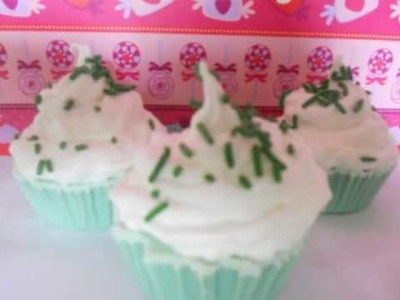 Cupcake Soaps, Bath Bombs and Bars For Gifts