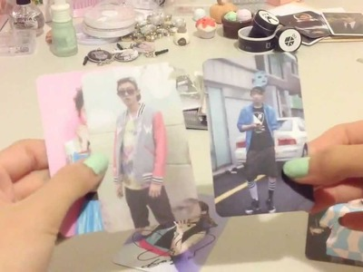 DIY:  Kpop.EXO Photo Card Decoration!