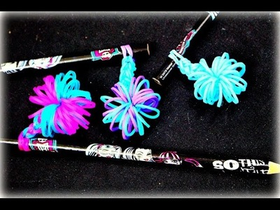 DIY Loom Bands ohne Rainbow Loom Topper Anhänger Loom Bandz deutsch